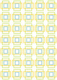 Abstract background with seamless pattern Stock Image