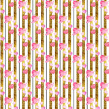 Abstract background - seamless pattern wallpaper Royalty Free Stock Images