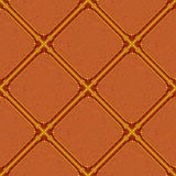Abstract background seamless, red. Background, abstract seamless wallpaper design with brown squares Stock Images