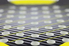 Abstract background with selective focus. Openings rackets for playing beach tennis stock photography