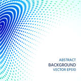 Abstract background of semitones. Distortion of space. Stock Photos