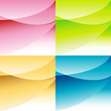 Abstract Background Set Royalty Free Stock Image