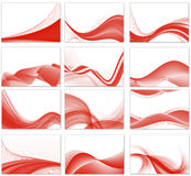 abstract background set Stock Images