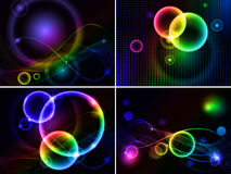 Free Abstract Background Set Stock Photo - 19767870