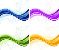 Abstract background set Stock Photos