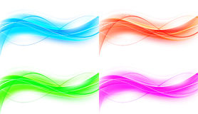 Abstract background set Royalty Free Stock Photography
