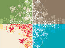 Abstract  background set Stock Image
