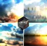 Abstract background. Shadows and blur background. Sky, clouds, nature, landscape Stock Photo
