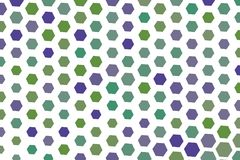 Abstract background with shape of hexagon pattern. Cover, messy, graphic & style. Abstract background with shape of hexagon pattern. Style of mosaic or tile Stock Images