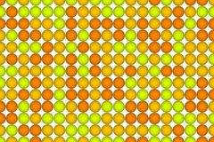 Abstract background with shape. Pattern, pixel, artwork, generative & tile. Colored 3D sphere, circle or ellipse pattern for design wallpaper, texture or Stock Photo
