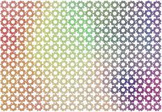 Abstract background with shape of star pattern. Effect, decoration, messy & wallpaper. Abstract background with shape of star pattern. Style of mosaic or tile Stock Photography