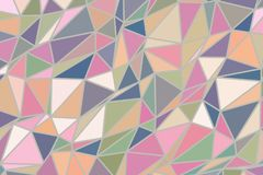 Abstract background with shape of triangle strip pattern. Style, graphic, surface & canvas. Abstract background with shape of triangle strip pattern. Vector Stock Image