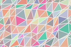 Abstract background with shape of triangle strip pattern. Effect, drawing, digital & concept. Abstract background with shape of triangle strip pattern. Vector Royalty Free Stock Photography