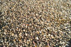 Abstract background of gravel stones. royalty free stock image