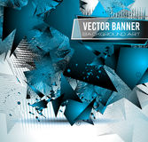 Abstract Background with Shapes Explosion For Cover, Stock Photography
