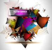 Abstract Background with Shapes Explosion For Cover Stock Photos