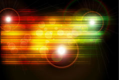 Abstract background. Shapes shiny glow Royalty Free Stock Photos