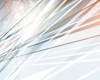 Abstract Background. A sharp steel abstract background with bright lights vector illustration