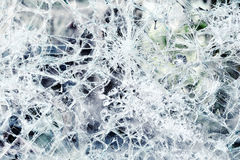 Abstract background of shattered glass Royalty Free Stock Image