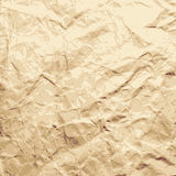 Abstract background. Sheet of the crushed paper. Stock Photo