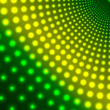 Abstract background of shimmering circles Stock Images