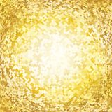 Abstract background with shining gold squares Royalty Free Stock Photography