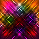 Abstract background with shining magic lights. Vector illustration stock illustration