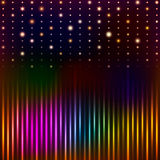 Abstract background with shining magic lights. Vector illustration vector illustration