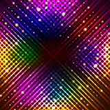 Abstract background with shining magic lights. Vector illustration royalty free illustration