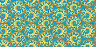 Abstract background of shining  spirals Stock Photo