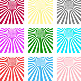 Abstract background of the shining sun-rays. Sun. Vector illustration Royalty Free Stock Photo