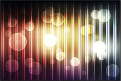 Abstract background with shiny circles Stock Photos