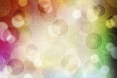 Abstract background with shiny circles Stock Image