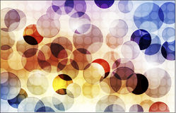 Abstract background with shiny circles. Color Stock Photo
