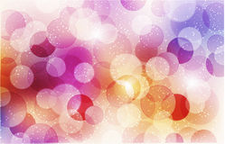 Abstract background with shiny circles Royalty Free Stock Photos