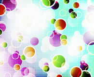 Abstract background with shiny circles Royalty Free Stock Photo