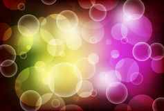 Abstract background with shiny circles. Color Royalty Free Stock Photos
