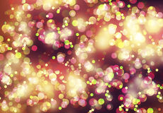 Abstract background with shiny circles. Color Stock Photography