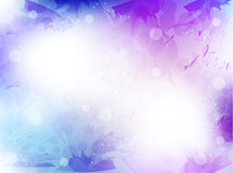 Abstract background with shiny circles Royalty Free Stock Photography
