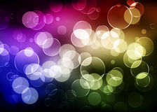 Abstract background with shiny circles. Color Royalty Free Stock Photo