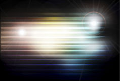 Abstract background with shiny circles Stock Photography