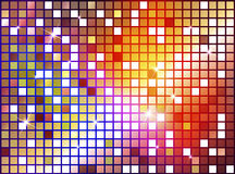 Abstract background with shiny shapes. Color Royalty Free Stock Image