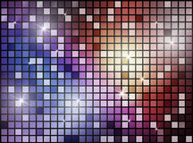 Abstract background with shiny shapes. Color Stock Photo