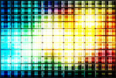 Abstract background. Shiny shapes squares Stock Images
