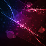 Abstract  background, shiny space Stock Photography