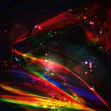 Abstract background, futuristic illustration Stock Photography