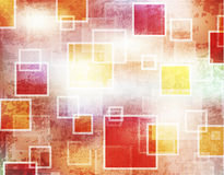 Abstract background. Shiny squares grunge Stock Photo