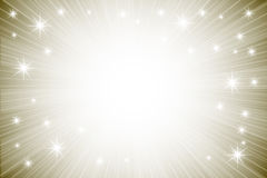 Abstract background with shiny stars Royalty Free Stock Image