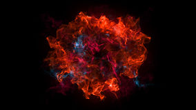 Abstract background with Shockwave explosion on black backdrop Royalty Free Stock Photography