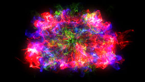 Abstract background with Shockwave explosion on black backdrop Stock Photos